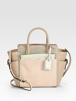 Reed Krakoff - Mini Atlantique Exotic Mixed-Media Satchel