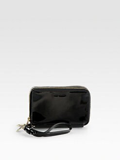 Reed Krakoff - Patent Leather Double Zip Wristlet