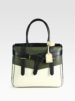 Reed Krakoff - Boxer I Colorblock Canvas Tote