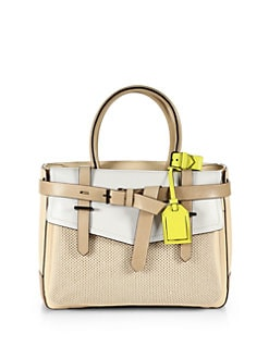 Reed Krakoff - Boxer Mixed-Media Colorblock Tote