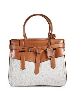 Reed Krakoff - Boxer 1 Leather & Felt Tote