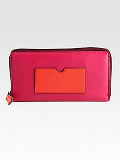 Reed Krakoff - Large Colorblock Zip-Around Wallet