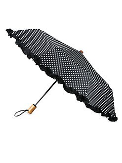 Saks Fifth Avenue Collection - Ruffled Automatic Umbrella