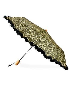 Ruffled Automatic Umbrella