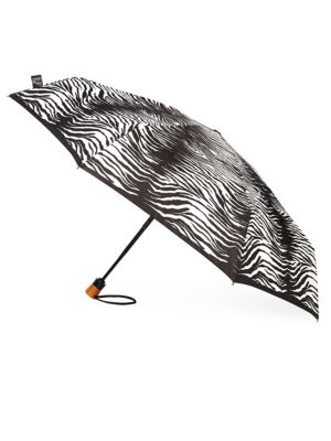 Zebra-Print Umbrella