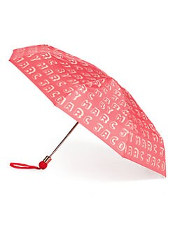 Marc by Marc Jacobs - Dynamite Logo Folding Umbrella