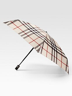 Burberry - Automatic Check Umbrella