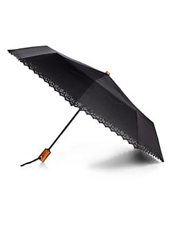 Saks Fifth Avenue Collection - Eyelet Umbrella