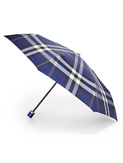 Burberry - Check Trafalgar Folding Packable Umbrella
