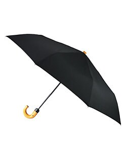 Saks Fifth Avenue Collection - Three Section Automatic Umbrella