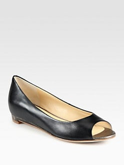 Cole Haan - Astoria Leather Ballet Flats