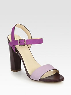 Cole Haan - Minetta Leather Ankle Strap Sandals