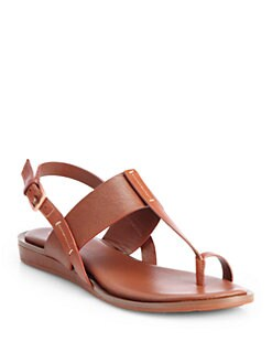 Cole Haan - Pelham Leather T-Strap Sandals