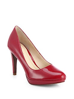 Cole Haan - Chelsea Patent Leather Platform Pumps