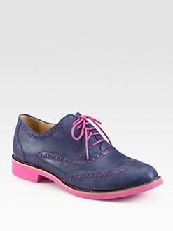 Cole Haan - Alisa Leather Oxfords
