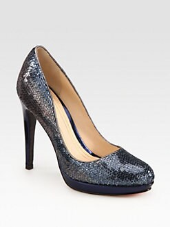 Cole Haan - Chelsea Sequin Platform Pumps