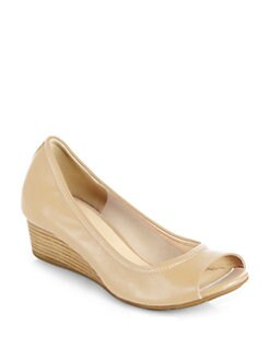 Cole Haan - Air Tali Leather Wedge Pumps