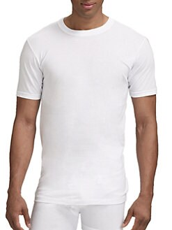 Saks Fifth Avenue Men's Collection - Crewneck Tee/3-Pack