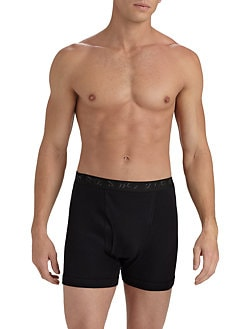 Saks Fifth Avenue Men's Collection - Logo Boxer Briefs
