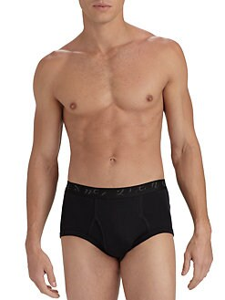 Saks Fifth Avenue Men's Collection - Logo Briefs/2-Pack