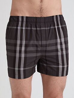 Burberry - Check Boxers/2-Pack