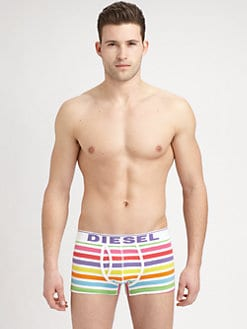 Diesel - Rainbow Stripe Boxer Trunks