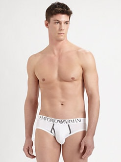 Emporio Armani - Contrast Jersey Briefs