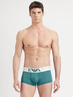 Emporio Armani - Basic Stretch Micro-Fiber Trunks