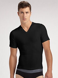 Spanx - Cotton Compression Tee/V-Neck