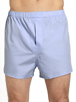 Saks Fifth Avenue Men's Collection - Trim-Cut Boxers