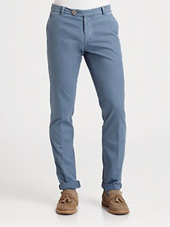 Brunello Cucinelli - Slim-Fit Cotton Pant