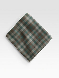 Brunello Cucinelli - Madra Cotton Pocket Square