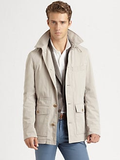 Brunello Cucinelli - Microfiber Parka Jacket