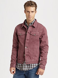 Brunello Cucinelli - Color Washed Denim Jacket