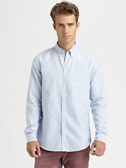 Brunello Cucinelli - Oxford Cotton Sportshirt
