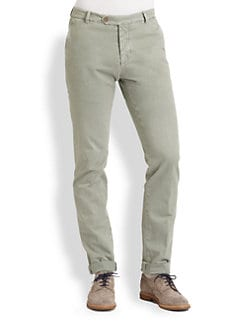 Brunello Cucinelli - Slim-Fit Chino Pant