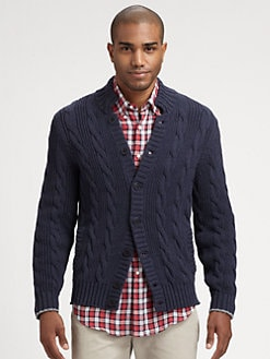 Brunello Cucinelli - Cable Cardigan