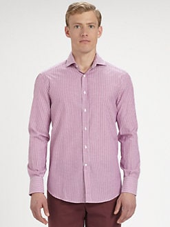 Brunello Cucinelli - Checked Sportshirt