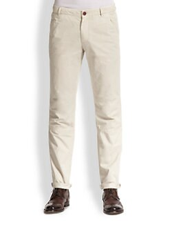 Brunello Cucinelli - Cotton Slim Work Pants