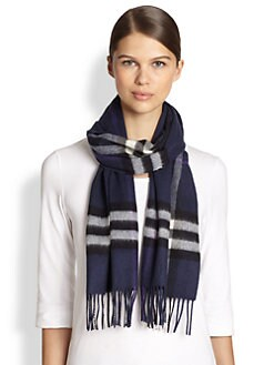 Burberry - Giant Icon Cashmere Scarf