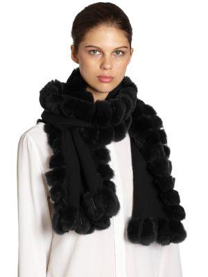 Oblong Fur Scarf