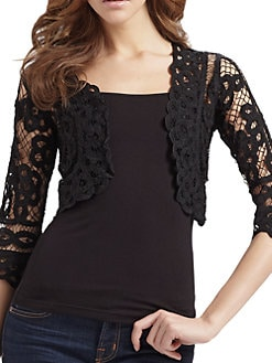 Harrison Morgan - Ribbon Embroidered Bolero