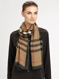Burberry - Haymarket Check Scarf