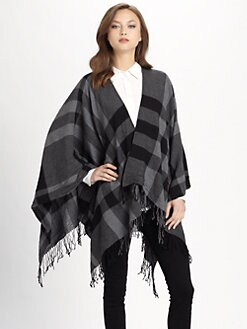 Burberry - Collette Fine Wool Cape