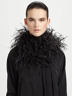 Maison Martin Margiela - Feather & Down Scarf