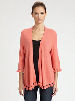 Minnie Rose - Cashmere Tassel Duster