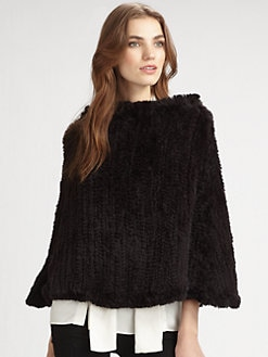 Pologeorgis - Knitted Rabbit Poncho