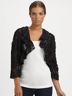 Ilana Wolf - Ribbon Lace Bolero