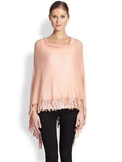 Minnie Rose - Cotton Fringe Ruana