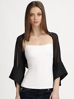 Harrison Morgan - Silk Georgette Shrug
